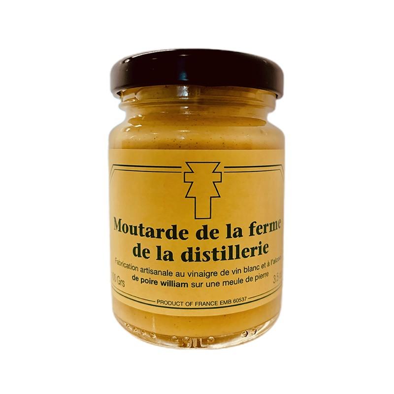 Moutarde du vexin à l'alcool de poire